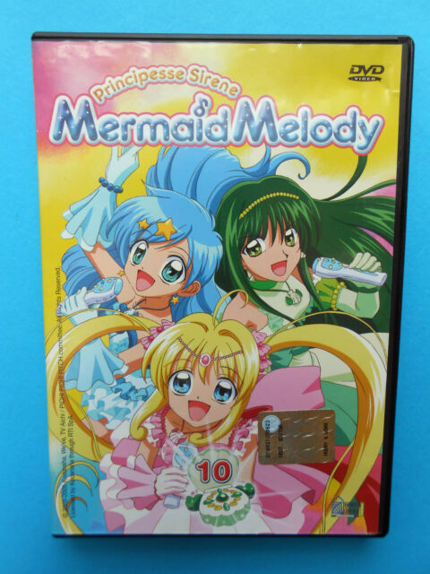 caricaturas cartoons dvds principesse sirene mermaid melody dvd n. 10 usato used