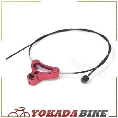 qty 2 Long Tandem Mountain Bike Brake Cable ATB Black Vbrake Disc Cantilever
