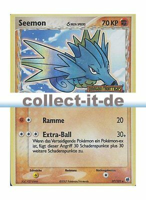 Pokemon Ex Dragon Frontiers 37//101 seemon-Reverse Holo tedesco