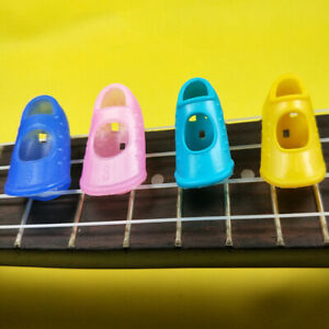 4Pcs-Guitar-Fingertip-Protectors-Finger-Guards-For-Guitar-Ukulele-Accessori-FE