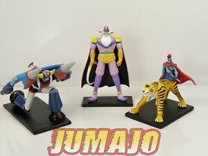 GOL4-LOT-3-figurines-resine-GO-NAGAI-HACHETTES-9-a-14-cm-GOLDORAK-combattants