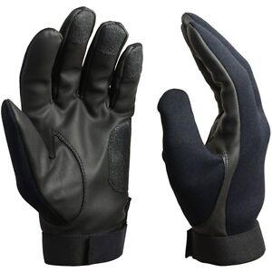 Negro-Neopreno-Asalto-Guantes-Todas-las-tallas-Frio-Clima-Humedo