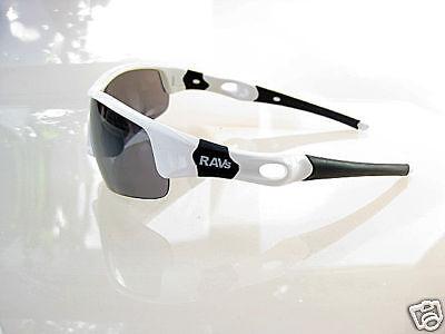 Weiß Ravs Unisex Sonnenbrille