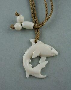 Kraftvoll Bone Carving Hai Haifisch
