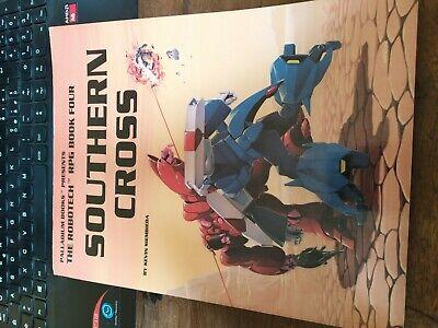 Obbiettivo Manuale Gioco Di Ruolo Southern Cross Robotech Macross Palladium Rpg Gdr Vintage