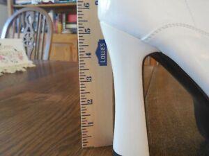 unworn NWOT Pleaser Electra 2020 patent knee high boots size 11