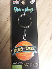 Rick And Morty Blips And Chitz Key Chain Adult Swim Funny Cartoon