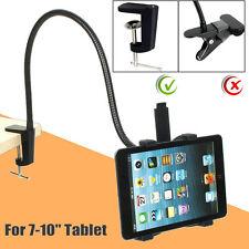 "Gooseneck 360 Lazy Bed Desktop Table Mount Stand Holder For ipad 7-10"" Tablet TE"