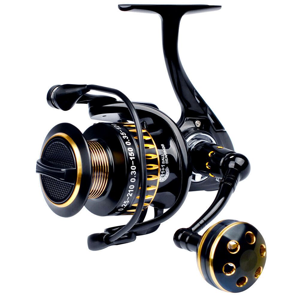 PROBEROS pesca Reel 111 BB Btutti orsoings Aluminum tuttioy Spinning bobine 5.0 1