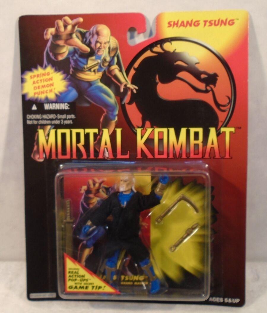 Mortal Kombat - Shang Tsung Includes Real Action Pop-Ups (MOC) Hasbro 1994