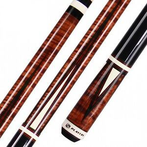 Players C-811 C811 Antique Brown Stained Maple Pool Cue w/ FREE Shipping