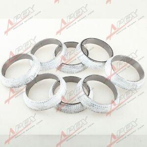 1.75 Graphite Header Manifold Downpipe Exhaust Flange Weld-On Donut Gasket