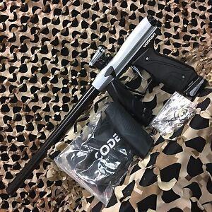 NEW-Valken-Code-68-Caliber-Electronic-Paintball-Gun-Marker-Titanium