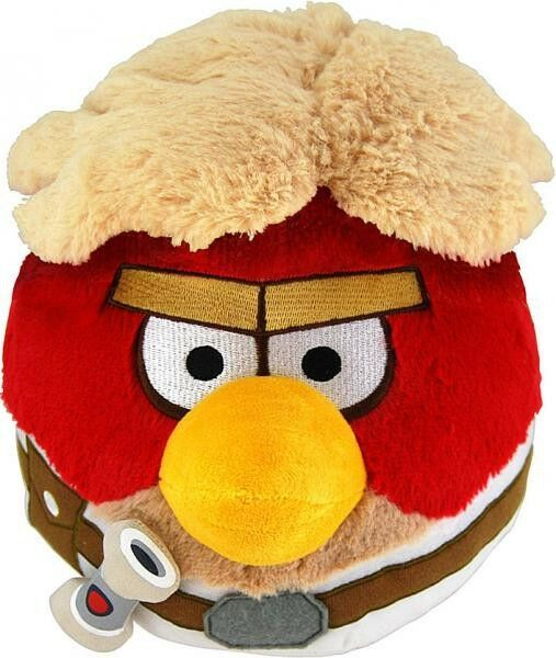 Angry birds star wars luke skywalker vogel 16 zentimeter weichen