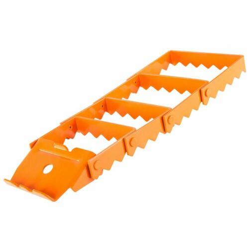 Single Steel Traction Track for Off-Road Vehicle Recovery