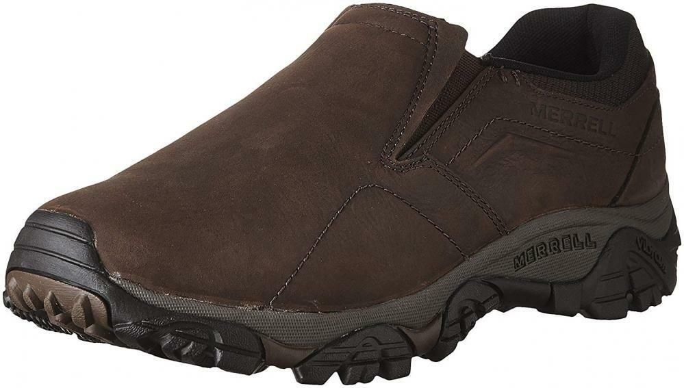Merrell Men's Moab Adventure MOC Hiking shoes Comfort Casual Walking Slip-On