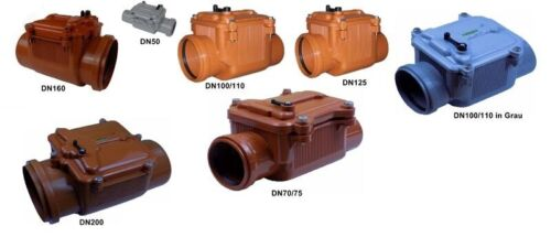 PROTECTION dn70 NEUF Clapet dn125 dn100 dn160 HT dn200 dn50 kg