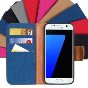 Etui-Portable-pour-Samsung-Galaxy-de-Protection-Livre-a-Clapet