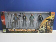 Mcfarlane Toys The Walking Dead Rick Grimes 15th ANNIVERSARIO BOX SET DI SANGUE