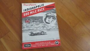 1959-Indy-500-Indianapolis-race-yearbook-F-Clymers-annual-Rodger-Ward-wins-Offy