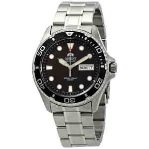 Orient-Diver-Ray-II-Automatic-Black-Dial-Men-039-s-Watch-FAA02004B9