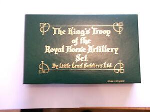 La troupe du roi de l'ensemble d'artillerie à cheval royal - Par petits soldats en plomb