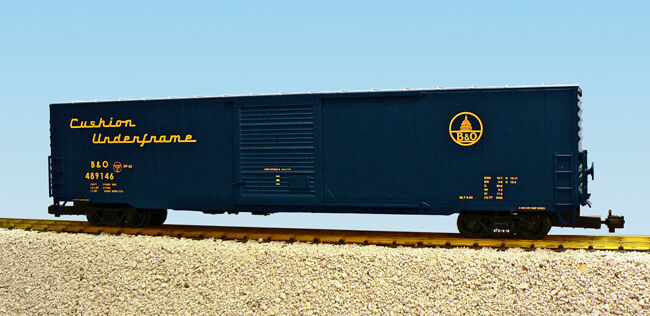 USA Trains G Scale 60 Ft Single Door Box Car R19413A  Baltimore & Ohio