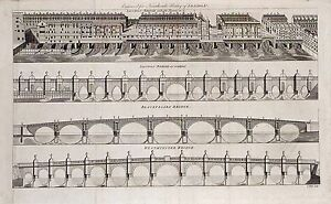 Antique-map-London-Bridge-with-houses-on-it-London-Bridge-re-edified