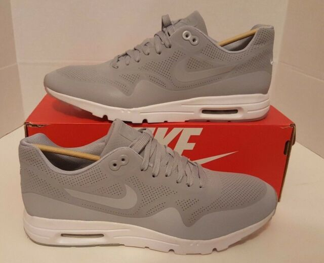 8d408b2194ee8 Nike Womens Air Max 1 Ultra Moire Wolf Grey White Sz 12 for sale ...