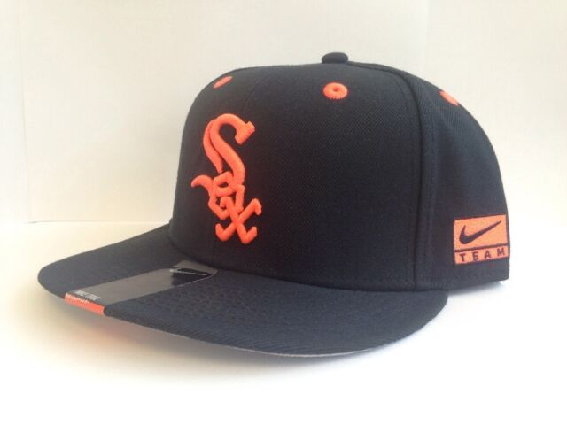 6a1bb7334 Details about Chicago White Sox Black MLB Hat Genuine Merchandise SnapBack  Cap