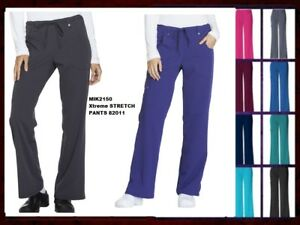49a47b74658 Image is loading Dickies-Xtreme-Stretch-Scrubs-Womens-Pants-82011-All-