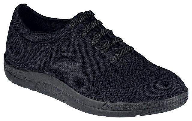 Berkemann Allegra 5450-999 Damen Schuhe schwarz vegan