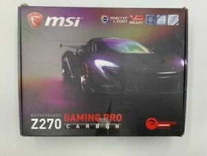 MSI-Z270-Gaming-Pro-Carbon-Socket-1151-Intel-i3-i5-i7-DDR4-Motherboard
