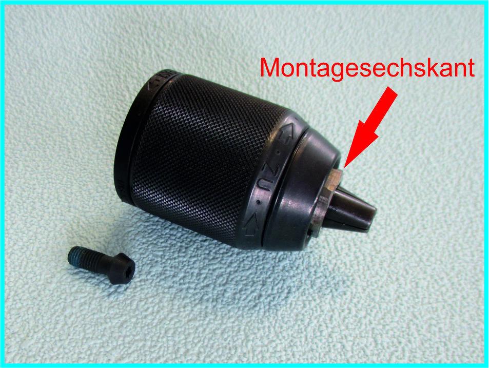 PAULIMOT Präzisions-Schnellspann-Bohrfutter 1-13 mm MK2