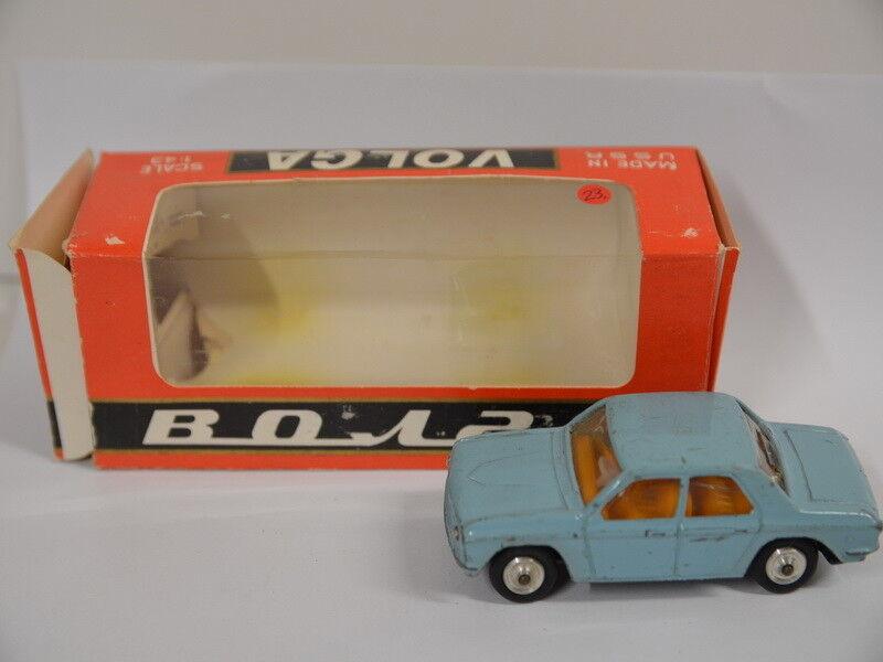 23) voiture miniature RUSSE dans neuf dans sa boîte-автомобили СССР Volga га3 1 43 VOLGA
