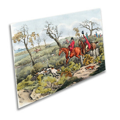 A1 A2 A3 A4 A5 Horse /& Hound Hunting Vintage Art Print Poster