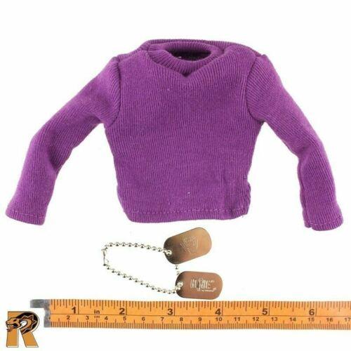 1//6 Scale GI JOE Action Figures Aviation Fuel Handler Purple Shirt /& Dogtags