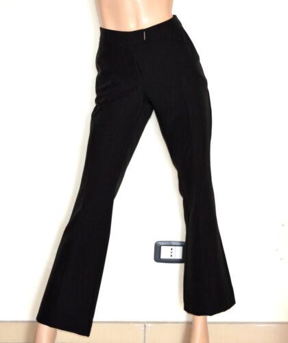 In Elegante G82 Classico Cerimonia Trousers Italy Nero Made Pantalone Donna qwcXt441