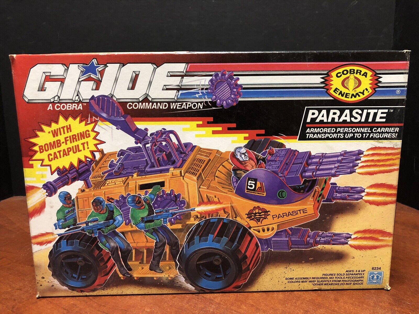 Gi Joe 1992 portadora de parásitos Sellado que 0181