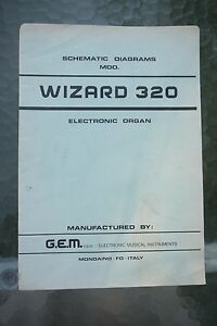 image is loading gem-wizard-320-electronic-organ-schematic-diagram-manual