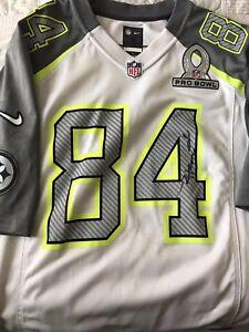 huge discount a8fd4 2fca5 Details about Antonio Brown Autographed Pro Bowl Jersey RARE