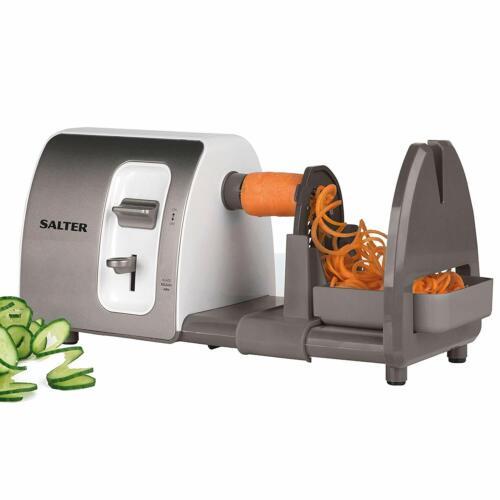 15 W Salter EK2299 3 in 1 Side Loading Electric Fruit and Vegetable Spiralizer