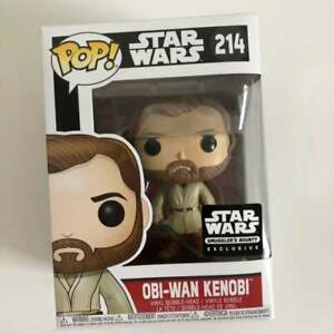 Funko Pop Star Wars Revenge Of The Sith Obi Wan Kenobi 214 Smuggler S Bounty Ebay