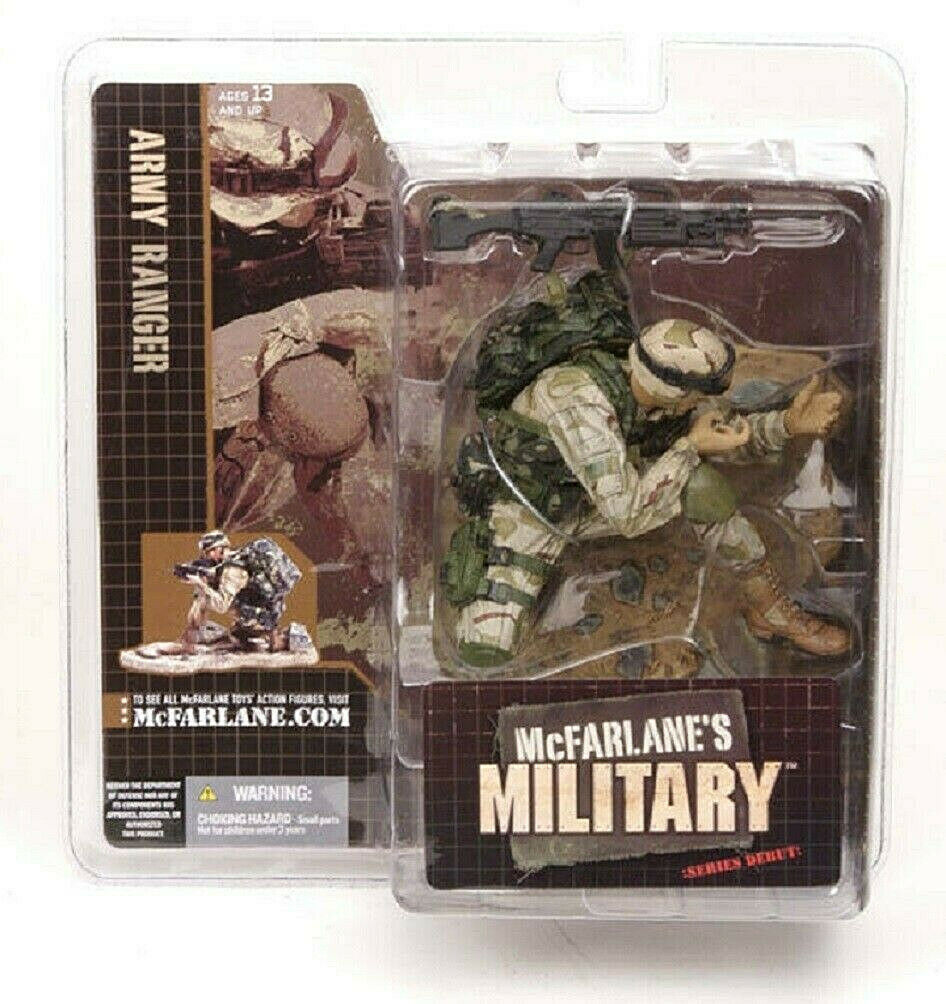 Military Series 1 Army Ranger New Figure 2005 McFarlane Amricons
