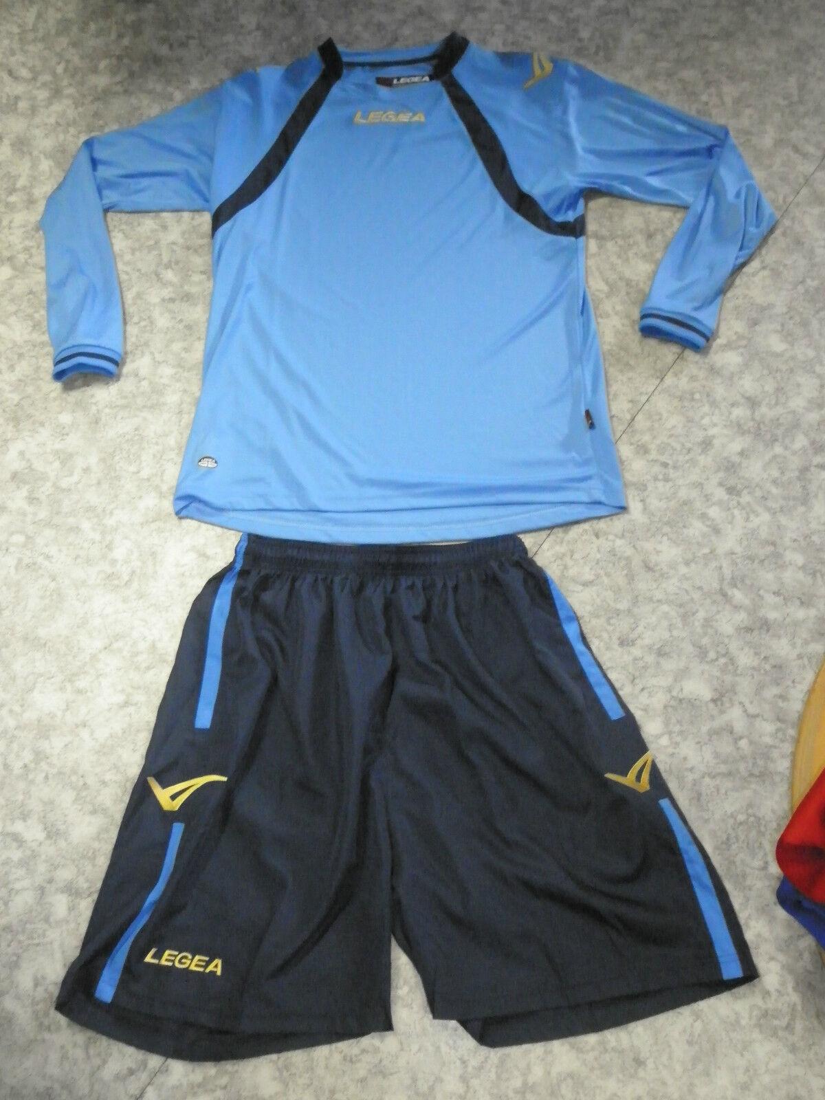 AKTION   14 Teamsport-Trikots DOVER    v.Legea,,hellblau blau,14 Sets  S 01a387