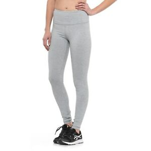 0eaacbc5e03b4c Image is loading KYODAN-Women-Leggings-SMALL-MEDIUM-LARGE-Light-Gray-