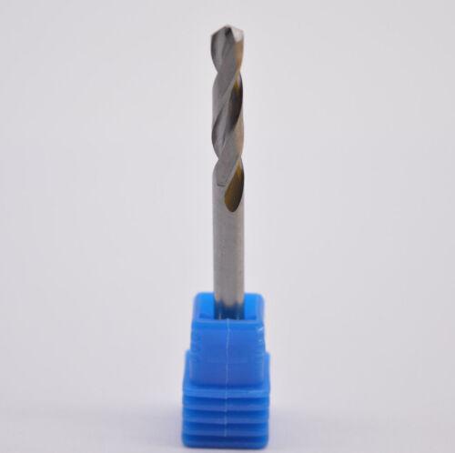 Φ4.5*45*2F cemented carbide alloy drill Bit Tungsten steel CNC drill 4.5mm drill