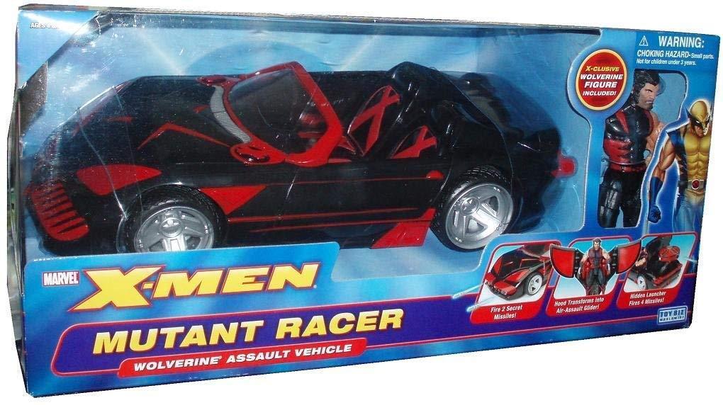 X-men Classics Series 1 mutante Racer Con Wolverine vehículo por X Men