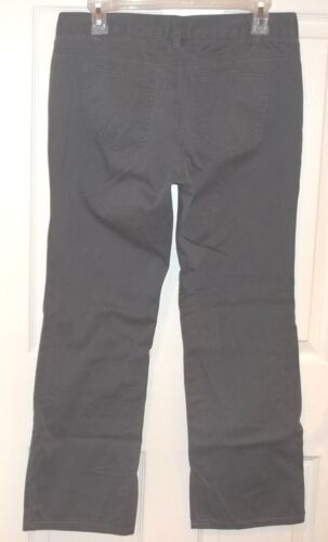 Stretch Short ~ ~ Chino Pants Chino sz Pantaloni grigi New Co 8 8p Petite York wZnU6q