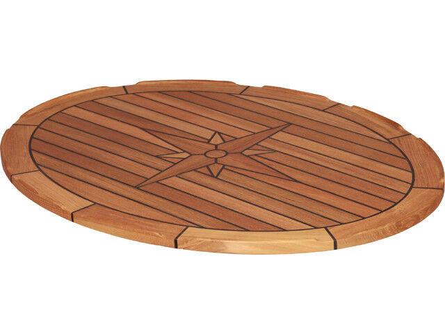 LH10002  Teak-Tischplatte Teak-Tischplatte Teak-Tischplatte Elipse, oval 60 x 80 cm, für Stiefel, Camping c6b2e5